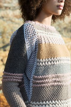WOOLY SHEEP SWEATER to KNIT in WORSTED WEIGHT YARN by FIBER TRENDS