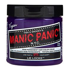 Lie Locks Purple Manic Panic 4 Oz Hair Dye *** Click image to review more details.