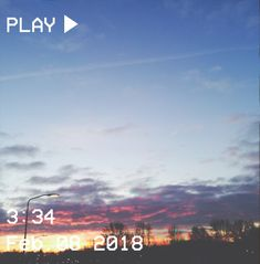 M O O N V E I N S 1 0 1      #vhs #aesthetic #sunrise #light #sky #clouds #pink #blue