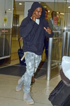 Yeezy in a hurry