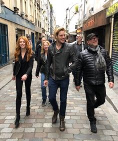 That time we went wandering for an hour in Paris before we got to the restaurant!