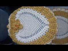 Jogo de banheiro em Crochê Flor Estrela - YouTube