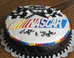 nascar cake..I like this one too
