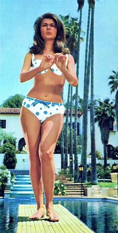 Pamela Tiffin (born October is a retired American film actress. Pamela Tiffin, Madeline Smith, Colleen Corby, Phoebe Cates, Vintage Swim, Young Americans, 60s And 70s Fashion, Bathing Beauties, Movie Stars