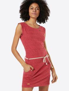 Ragwear Kleid 'TAG' in rot bei ABOUT YOU bestellen. ✓Versandkostenfrei ✓Zahlung auf Rechnung ✓kostenlose Retoure