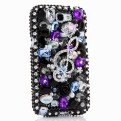 Purple Leopard Bow Design case made for for iPhone 6 / Plus Bling Phone Cases, Iphone 8 Cases, Samsung Cases, Samsung Galaxy, Iphone 6, Bow Design, Design Case, Sparkle, Cell Phone Covers
