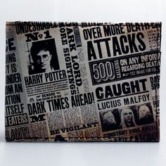 awesome Wallet Harry Potter Newspaper Merch Loot  -