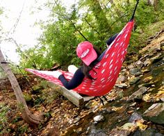 College Duck Tape hammock.  Say what?!    Haha I made this! I don't know how it ended up on pintrest but cool?