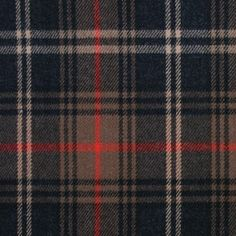 One look at the colors of this wool plaid and we are immediately reminded of that esteemed British design house known for their classic raincoats. Medium-weight with a soft hand. Turn this classic wool into tailored jackets, skirts, ponchos and more.