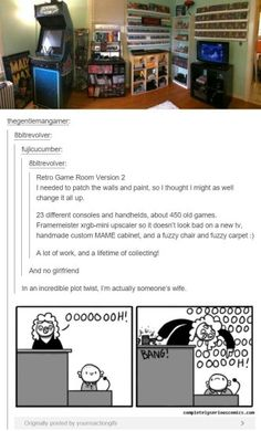 Ha me. Yes incredibly girls have been playing video games as long as boys ;).