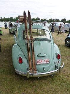 Beetle.  Makes me think of the '64 I had... Without all the niceties.