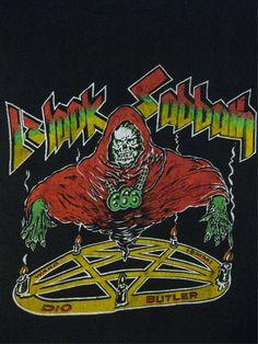 BLACK SABBATH vintage tour SHIRT Graphic