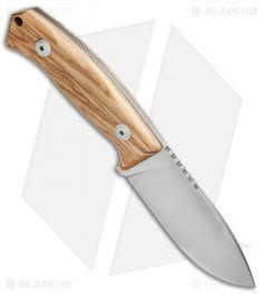 """LionSteel M2 Hunting Knife MCKF Olive Wood (3.54"""" Satin) M2 UL Swiss Army Pocket Knife, Best Pocket Knife, Cool Knives, Knives And Swords, Pocket Knife Brands, Knife Art, Tool Steel, Chef Knife, Custom Knives"""
