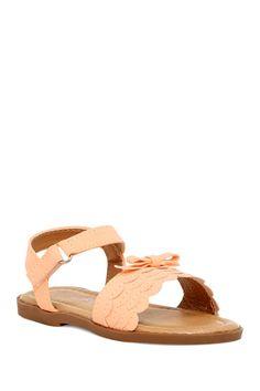 Bella Scalloped Sandal  by Yoki on @HauteLook