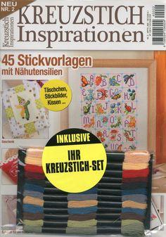 KREUZSTICH INSPIRATIONEN N ° 02 2014