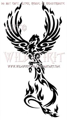 Phoenix Tattoos, Designs And Ideas : Page 13