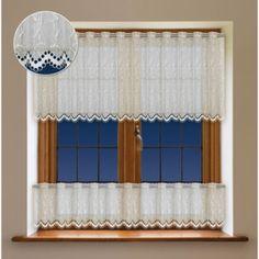 Magdalena okrová, záclona metrážová/výška 90cm/šíř Valance Curtains, Shades, Home Decor, Decoration Home, Room Decor, Sunnies, Home Interior Design, Eye Shadows, Draping