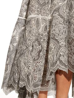 Empire embroidered high-waisted skirt | Zimmermann | MATCHESFASHION.COM
