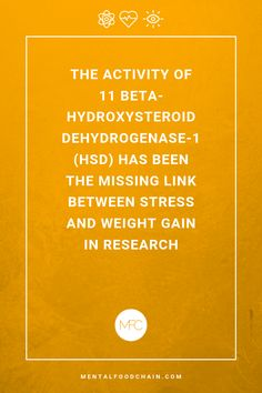 The amplifying effect on fat storage of 11 beta-hydroxysteroid (HSD) can explain more complex cases without the common link between stress exposure, elevated cortisol levels, and weight gain. Stress Relief Tips, Stress Causes, Chronic Stress, Stress And Anxiety, Balancing Hormones, High Cortisol, Stress Management Techniques, Stress Quotes, Important Quotes