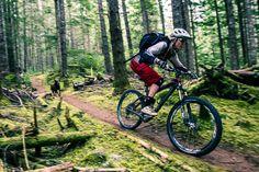 Biking the forest - Katrina Strand, Squamish, BC