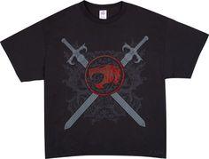 Crossed Swords Thundercats T-Shirt Size XL  $20 - Crossed Swords Thundercats T-Shirt. Size is XL.