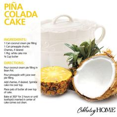*LIKE *PIN *SHARE* Pina Colada anyone? Everyone needs a set of the Mini Bean Pots!! For more recipes visit my website at www.4dreaminteriors.com