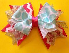 Spring shimmer bow