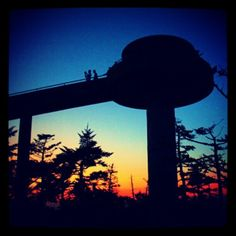 Clingmans Dome in the Great Smoky Mountains