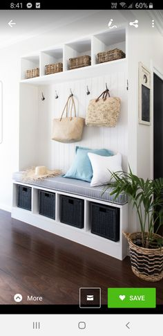 Let these mudroom entryway ideas welcome you home. Instantly tidy up and organize your hallway or entryway with industrial mudroom entryway. Decor, Foyer Decorating, Furniture, Small Mudroom Ideas, House, Small Rooms, Interior Design, Home Decor, Mudroom Entryway