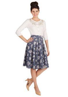 Back by Demand - Tea Date Skirt