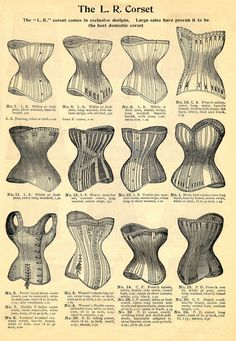 Corsets siglo XIX