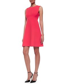 sleeveless fit-and-flare dress by kate spade new york at Neiman Marcus.