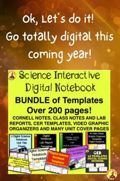 Science Labs, Science Resources, Reading Resources, Science Lessons, Science Notebooks, Interactive Notebooks, Science Clipart, Cornell Notes, Grades