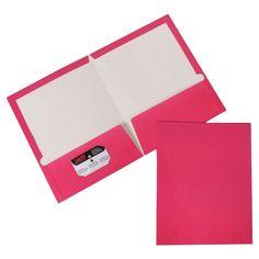 Jam Paper, Glossy Folders,