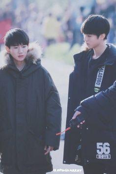 Wang Junkai & Wangyuan #kaiyuan #karroy #ไคหยวน #boyhood