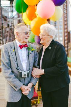 Nerd também casa: Casal ganha ensaio fotográfico inspirado em Up para comemorar 61 anos juntos | Nerdivinas