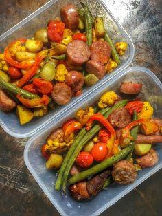 Sausage and Veggie Meal Prep