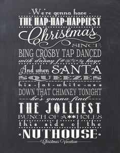Christmas Vacation Quote Clark Griswald by BonTempsBeignet