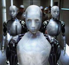 "Robot Sonny in Sci-Fi fantasy ""I, Robot"", release date July 16, 2004."