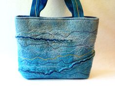 Blue bag by Helen MacRitchie