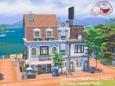 Lotes The Sims 4, Sims Cc, Sims 3 Houses Ideas, Sims 4 House Plans, Casas The Sims 4, Sims House Design, Sims Building, City Model, Sims 4 Build