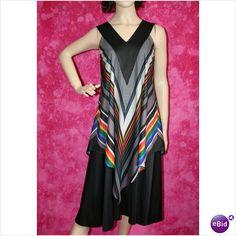 Vintage 1970 Designer Smock Dress Size 8 10 Rare on eBid United Kingdom