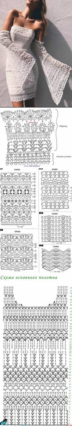 Crochet Art, Crochet Woman, Irish Crochet, Crochet Stitches, Crochet Patterns, Crotchet Dress, Crochet Blouse, Finger Crochet, Crochet Halter Tops