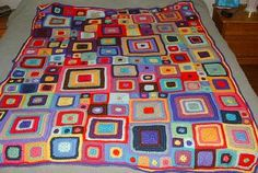 Babette blanket. So want to make it when I'm a little more experienced with crochet