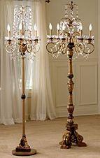 Diy chandelier floor lamp pinterest diy chandelier restoration chandelier lamp aloadofball Gallery