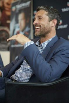 Patrick Dempsey Racing, Race Cars, Dads, Handsome, Actors, Fictional Characters, Smile, Drag Race Cars, Fathers