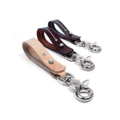 Nickel Plated trigger snaps, for all colors of leather key holders.