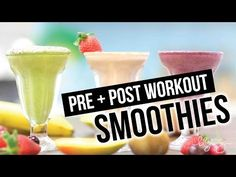 Ever wonder what you should drink before and after your workout? Here's what I drink and why it works! Also BONUS Metabolic Blast Smoothie at the end - bewar...