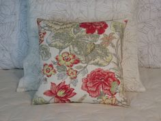 This 17 x 17  pillow is created from a 100% cotton linen textured fabric by…