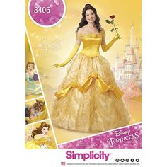 Attend your next royal ball in style in this stunning gown from Disney Beauty and the Beast.